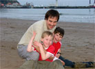 Chris & The Kids At Scarborough