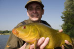 Paul with a nice tench