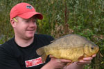 Me with a 3lb plus Crucian