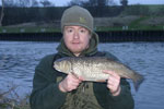 Chub caught on Bread Flake